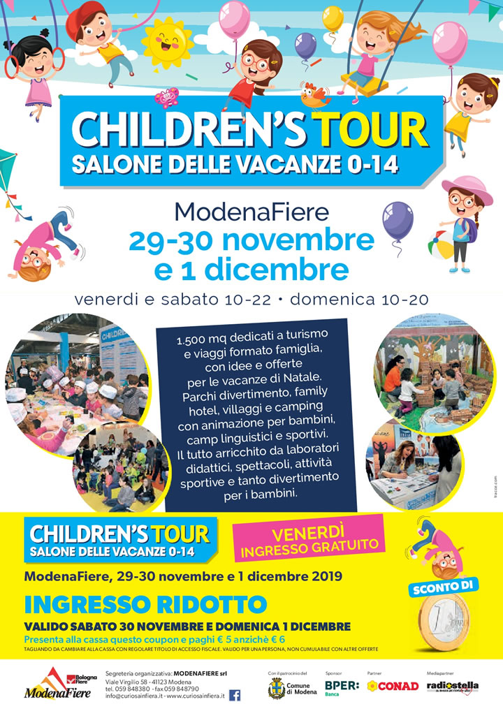 Coupon Childrens Tour